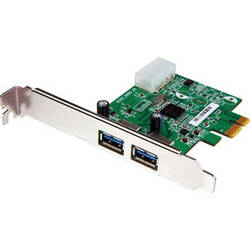 Transcend 2-Port USB 3.0 PCI Express Expansion Card