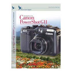 Blue Crane Digital Training DVD: Introduction to the Canon Powershot G11