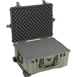 Pelican 1610 Case with Foam Set (Olive Drab Green)