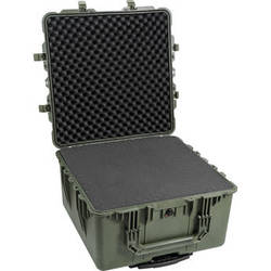 Pelican 1640 Transport Case with Foam (Olive Drab Green)