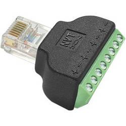 NVT NV-RJ45A RJ45 to Screw Terminal Block Adapter (2-Pack)