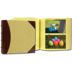 Pioneer Photo Albums 639300 Extra Capacity 300 Pocket Photo Album (Beige with BrownTrim)