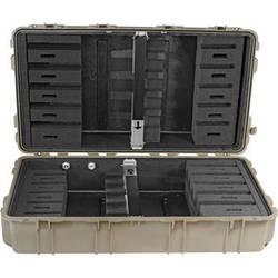 Pelican 1780RF Long Case with Rifle Foam Cut Insert (Desert Tan)