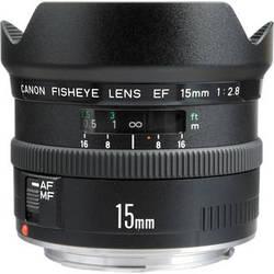 Canon Fisheye EF 15mm f/2.8 Autofocus Lens