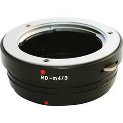 Bower AB43MD Micro Four Thirds Body to Minolta MD Lens Adapter
