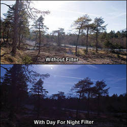 """Cavision 4 x 5.65"""" Day for Night 0.6 Filter"""