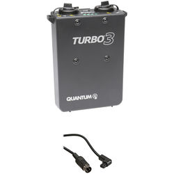 Quantum Turbo 3 Rechargeable Battery w/ CD1 Cable Kit