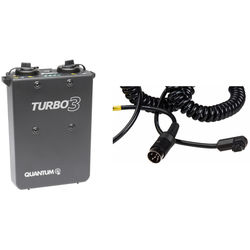 Quantum Turbo 3 Rechargeable Battery w/ SD10 Cable Kit