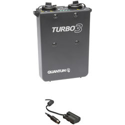 Quantum Turbo 3 Rechargeable Battery w/ CD30 Cable Kit