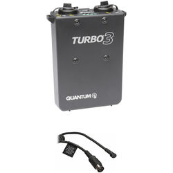 Quantum Turbo 3 Rechargeable Battery w/ SD6 Cable Kit