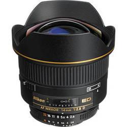 Nikon AF NIKKOR 14mm f/2.8D ED Lens