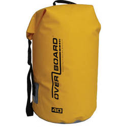 OverBoard Waterproof Dry Tube Bag (Yellow, 40L)
