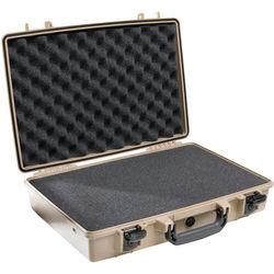 Pelican 1490 Attache/Computer Case with Foam (Desert Tan)