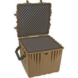 "Pelican 0370 24"" Cube Case with Foam (Desert Tan)"