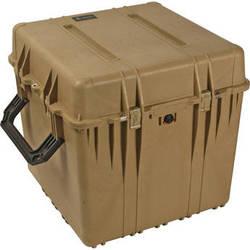 Pelican 0370 Cube Case without Foam (Desert Tan)