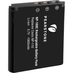 Pearstone NP-110C Lithium-Ion Battery Pack (3.7V, 1000mAh)