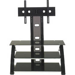 Z-Line Vitoria Flat Panel TV Stand with Integrated Mount (Black)