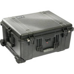 Pelican 1610 Case without Foam (Black)
