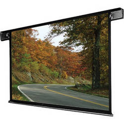 """Draper 112166QL Envoy 96 x 96"""" Ceiling-Recessed Motorized Screen with Low Voltage Controller and Quiet Motor (120V)"""
