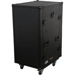 Odyssey Innovative Designs FZ1116WDLXBL Flight Zone ATA DLX Combo Rack Case
