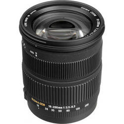 Sigma 18-200mm f/3.5-6.3 DC OS Lens for Canon Digital EOS