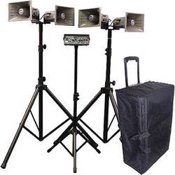 AmpliVox Sound Systems SW662 Quad Half-Mile Hailer Portable Wireless Kit