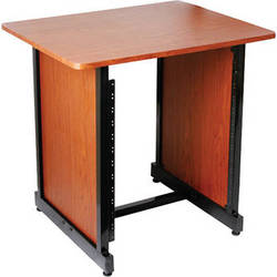 On-Stage WSR7500RB Rack Cabinet (Rosewood with Black Steel)