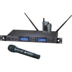 Audio-Technica 5000 Series AEW-5313aC UHF Wireless Bodypack & Handheld Cardioid Condenser Microphone System (Band C)