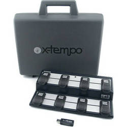 X-Tempo Designs pok - USB Wireless Foot Controller (Graphite Gray) with Case