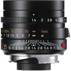 Leica Summilux-M 35mm f/1.4 ASPH Lens (Black)