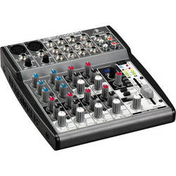 Behringer XENYX 1002FX 10-Channel Audio Mixer with Multi-FX Processor