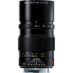 Leica Telephoto 135mm f/3.4 APO Telyt M Manual Focus Lens