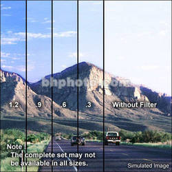 "Tiffen 2 x 3"" Hard Edge Graduated 0.9 ND Filter (Vertical Orientation)"