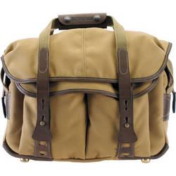 Billingham 307 Shoulder Bag (Khaki with Chocolate Leather)
