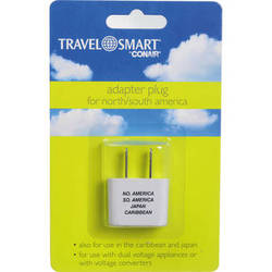 Travel Smart by Conair Adapter Plug For North / South America (2-Prong US Plug)