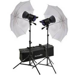 Interfit 750-X Two Floodlight Umbrella Kit