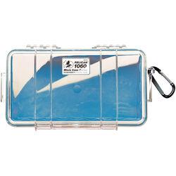 Pelican 1060 Clear Micro Case (Blue)