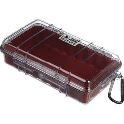 Pelican 1060 Clear Micro Case (Red)