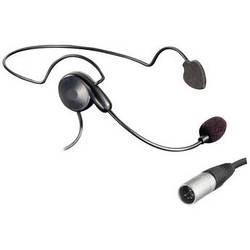Eartec Cyber Behind-the-Neck Communication Headset (5-Pin XLR-M)