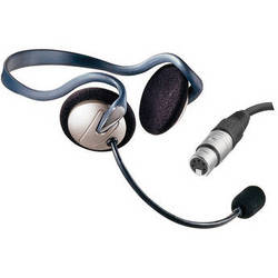 Eartec Monarch Behind-the-Neck Communications Headset (5-Pin XLR-F)