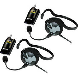 Eartec 2 Simultalk 24G Beltpacks with Fusion Headsets
