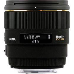 Sigma 85mm f/1.4 EX DG HSM Lens For Sigma Digital SLR Cameras