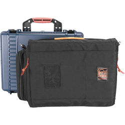 Porta Brace PB-2500IC Hard Case with Soft Case Interior (Blue)