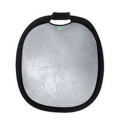 "Creative Light Deluxe Silver/White Reflector (24""/60cm)"