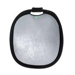"Creative Light Deluxe Silver/White Reflector (47""/120cm)"