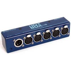Remote Audio Hot Box v2 DC Power Distribution System