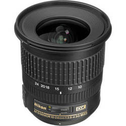 Nikon AF-S DX NIKKOR 10-24mm f/3.5-4.5G ED Lens (Refurbished)