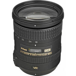 Nikon AF-S DX NIKKOR 18-200mm f/3.5-5.6G ED VR II Lens (Refurbished)