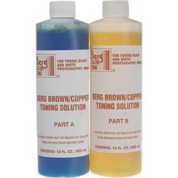Berg Toner for Black & White Prints - Brown-Copper