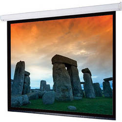 """Draper 116284QLP Targa 31.8 x 56.5"""" Motorized Screen with Low Voltage Controller, Plug & Play, and Quiet Motor (120V)"""